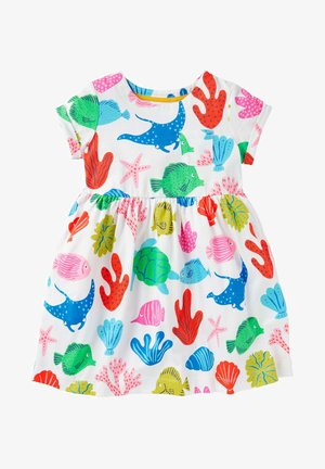 WITZIGES - Jersey dress - bunt/riesenfische