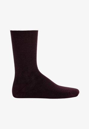 1 PAAR - RELAX SOFT, OHNE - Socks - dunkelbraun