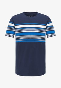 Lee - STRIPY PKT - Print T-shirt - navy - 6