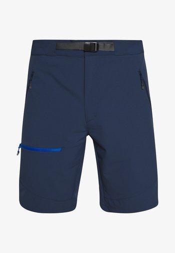LIZARD MEN - Sports shorts - tarn blue