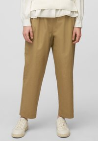 Marc O'Polo DENIM - Trousers - suntanned - 3