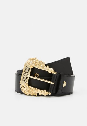 BAROQUE BUCKLE LARGE - Tailleriem - nero