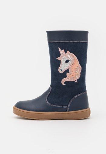 Boots - dark blue
