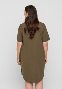 Zizzi - Shirt dress - ivy green - 2