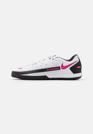 PHANTOM ACADEMY IC - Indoor football boots - white/pink blast/black
