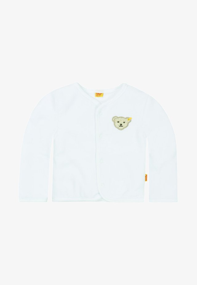 Zip-up hoodie - bright white