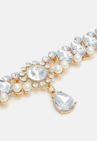 Pieces - PCMAURA NECKLACE - Necklace - gold-coloured/clear - 2