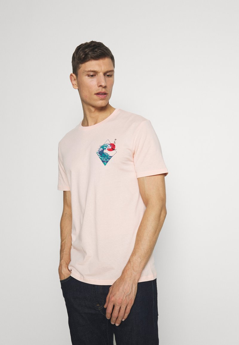 Pier One - T-shirt med print - pink