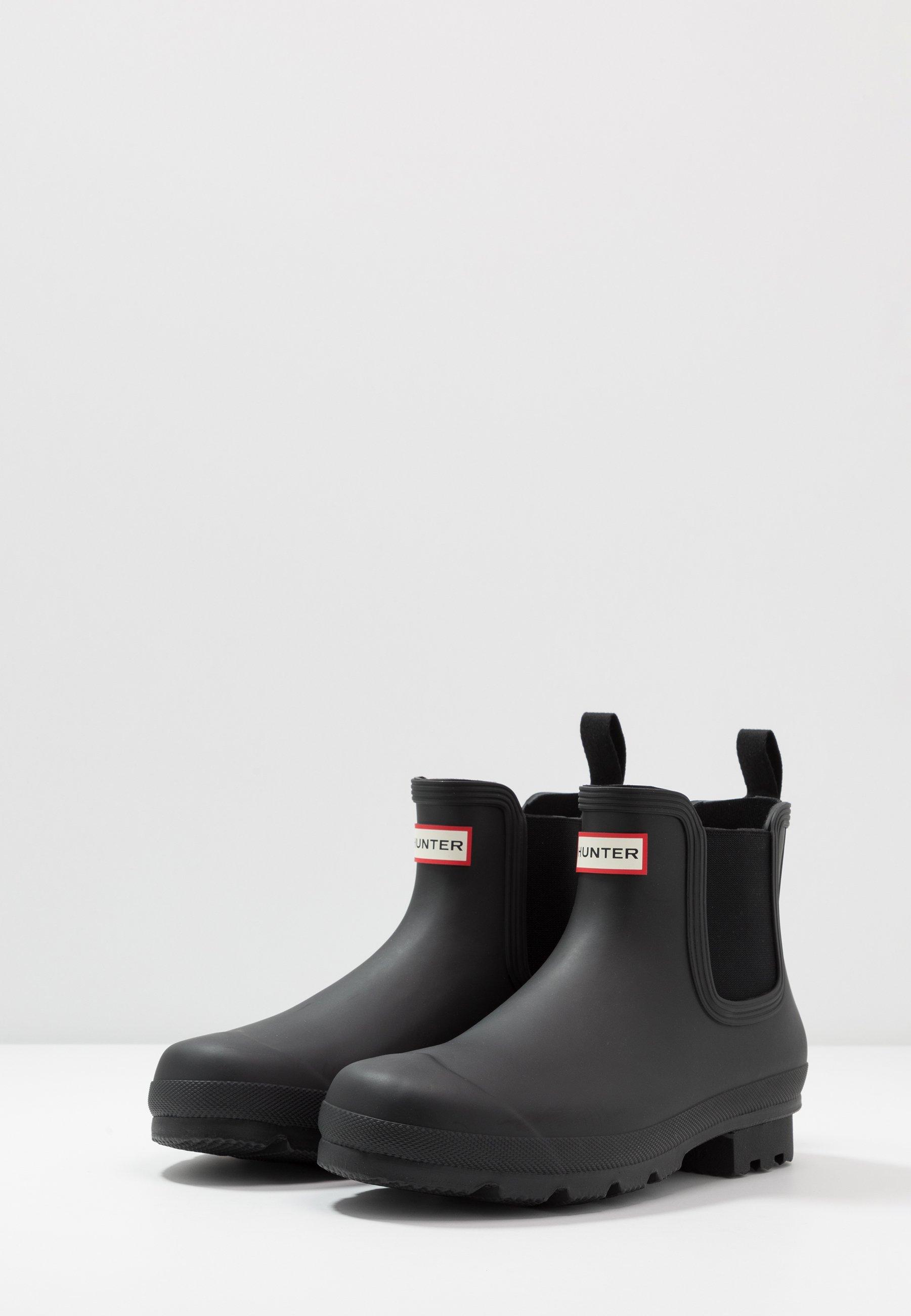 Buy Cheapest Hunter ORIGINAL MENS ORIGINAL CHELSEA - Wellies - black | men's shoes 2020 S9Bry