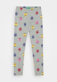 Benetton - FUNZIONE GIRL - Leggings - grey - 0