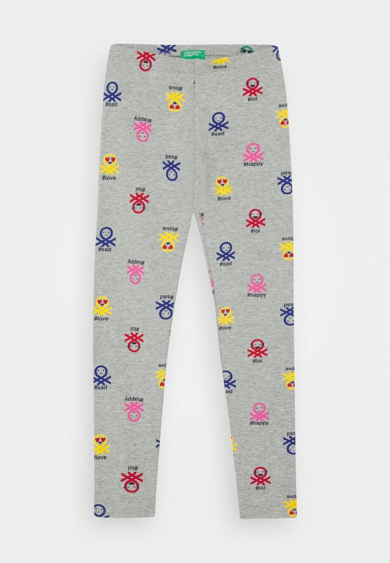 Benetton - FUNZIONE GIRL - Leggings - grey