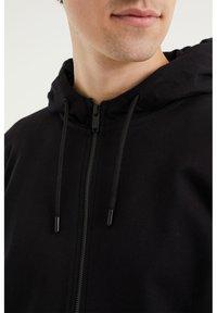 WE Fashion - Zip-up hoodie - black - 3