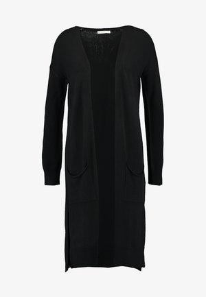 FRANKIE LIGHTWEIGHT LONGLINE CARDI - Cardigan - black