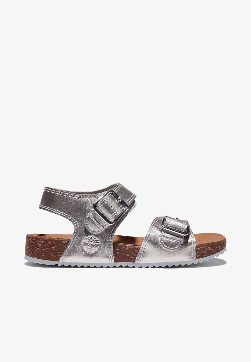 Timberland - CASTLE ISLAND - Walking sandals - silver