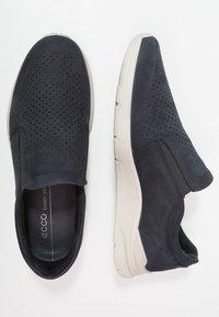 ECCO - IRVING - Nazouvací boty - blue - 1