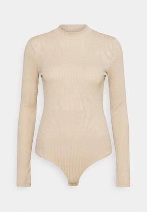 VMMIA HIGHNECK BODY - Topper langermet - beige