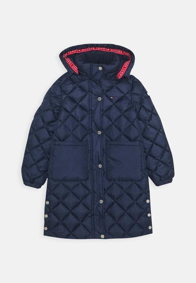 QUILTED COAT - Zimní kabát - blue