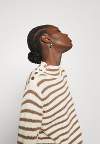 Mos Mosh - STRIPE - Jumper - toasted cocount - 3