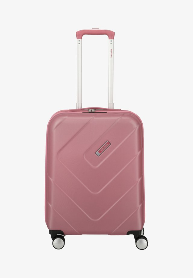 KALISTO - Wheeled suitcase - light pink