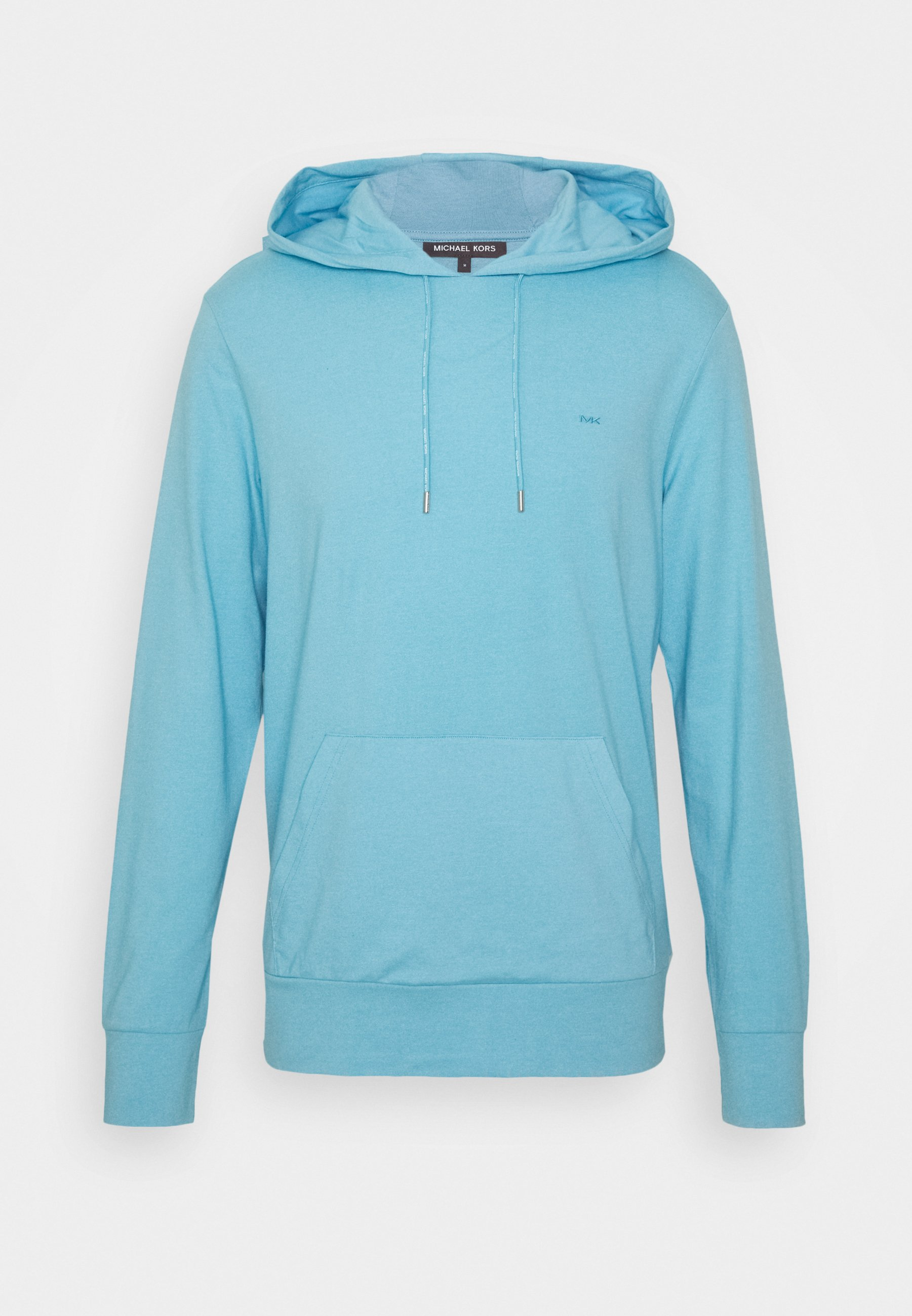 Men LONG SLEEVE HOODIE - Sweatshirt - blue