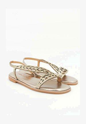 TORINO - Sandals - gold