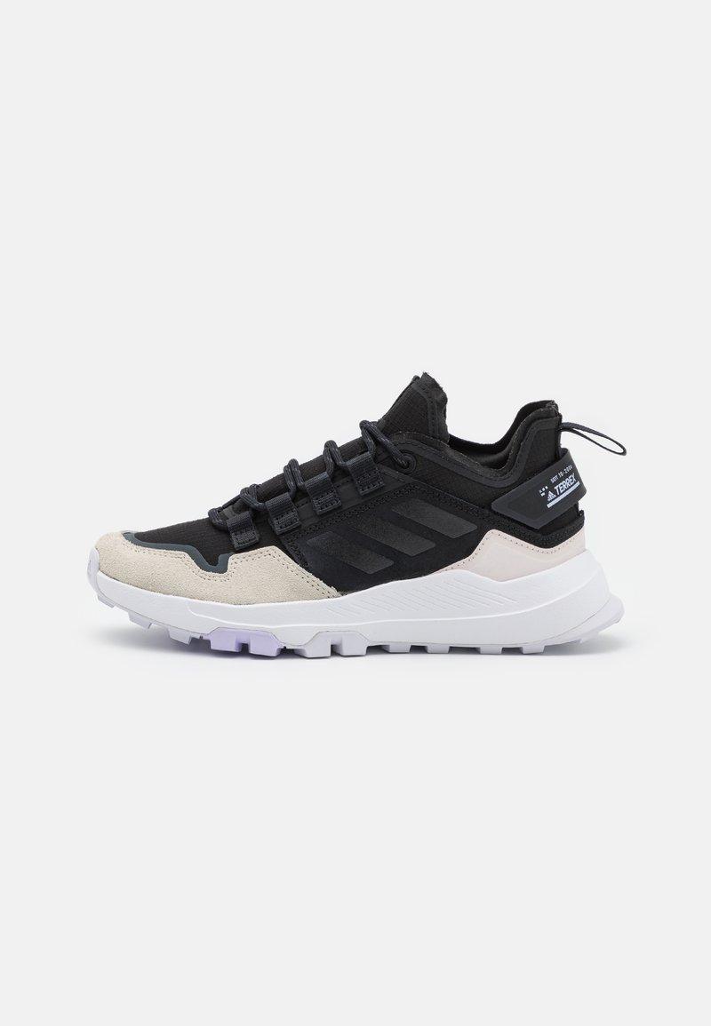 adidas Performance - TERREX HIKSTER - Scarpa da hiking - core black/crystal white/purple tint
