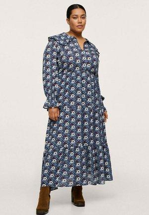 FLORAL - Maxi dress - blue