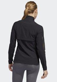 adidas Performance - RISE UP N RUN JACKET - Sports jacket - black - 1