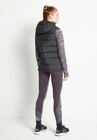 adidas Performance - HELIONIC DOWN VEST - Kamizelka - black - 3