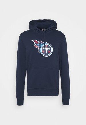 NFL TENNESSEE TITANS HOODIE - Club wear - blue