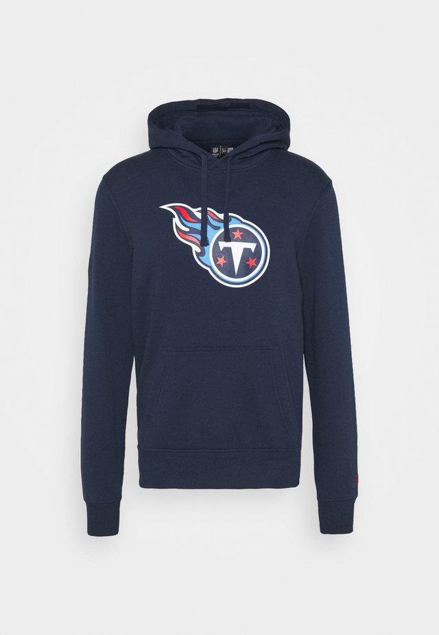 NFL TENNESSEE TITANS HOODIE - Klubové oblečení - blue