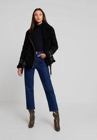 Maze - JEAN - Leather jacket - black - 1