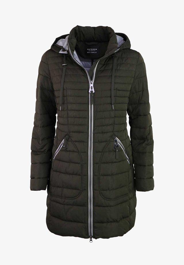 Winter coat - grün - petrol
