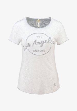 SUNSHINE - Print T-shirt - weiss (10)