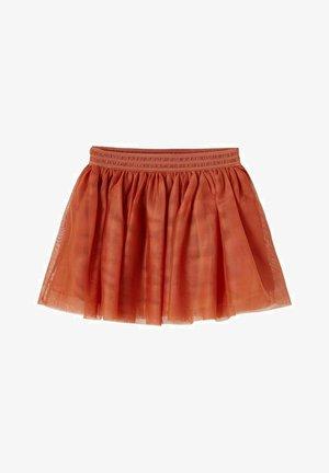 Mini skirt - etruscan red