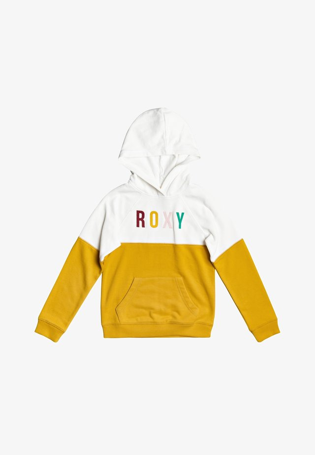 Hoodie - mineral yellow