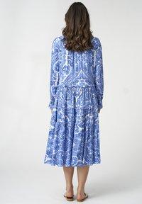 Dea Kudibal - VIOLA - Day dress - paisley blue - 2