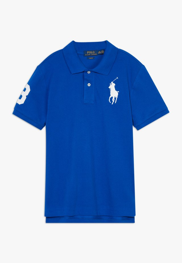 SLIM FIT - Polo - pacific royal