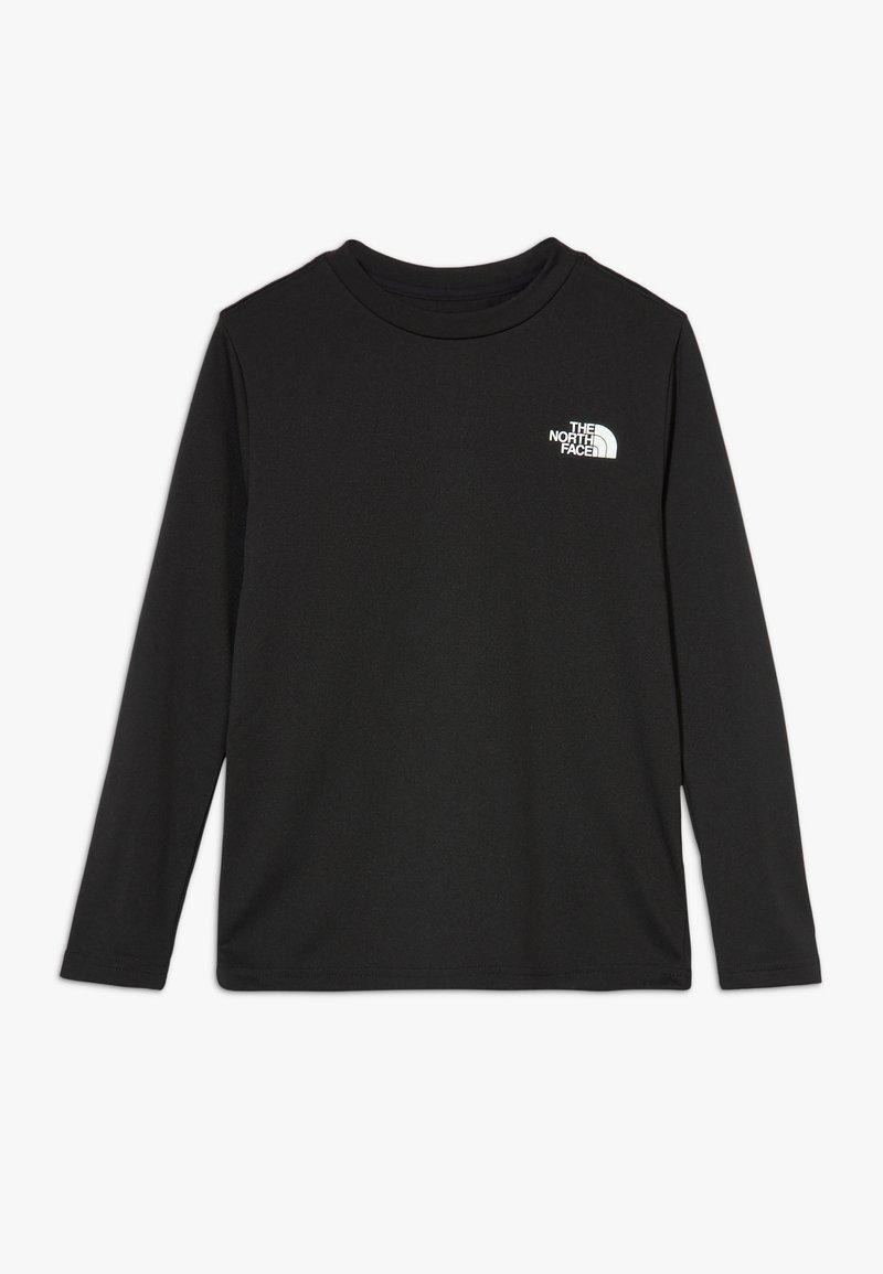 The North Face - BOY'S REAXION - Koszulka sportowa - black/white