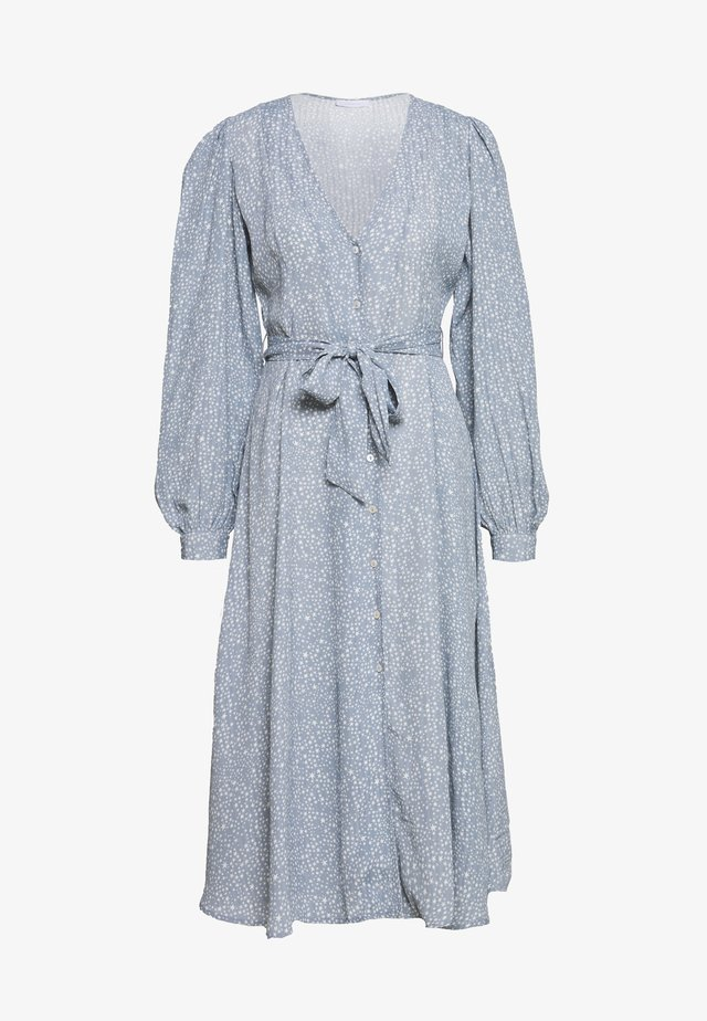 MARCIA SUPINE - Day dress - faded denim