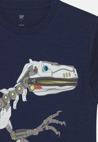 GAP - BOY TEE ZIPPER - T-shirt con stampa - elysian blue - 2