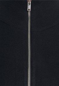 Lindbergh - MÉLANGE CARDIGAN  - Zip-up sweatshirt - navy mel - 6