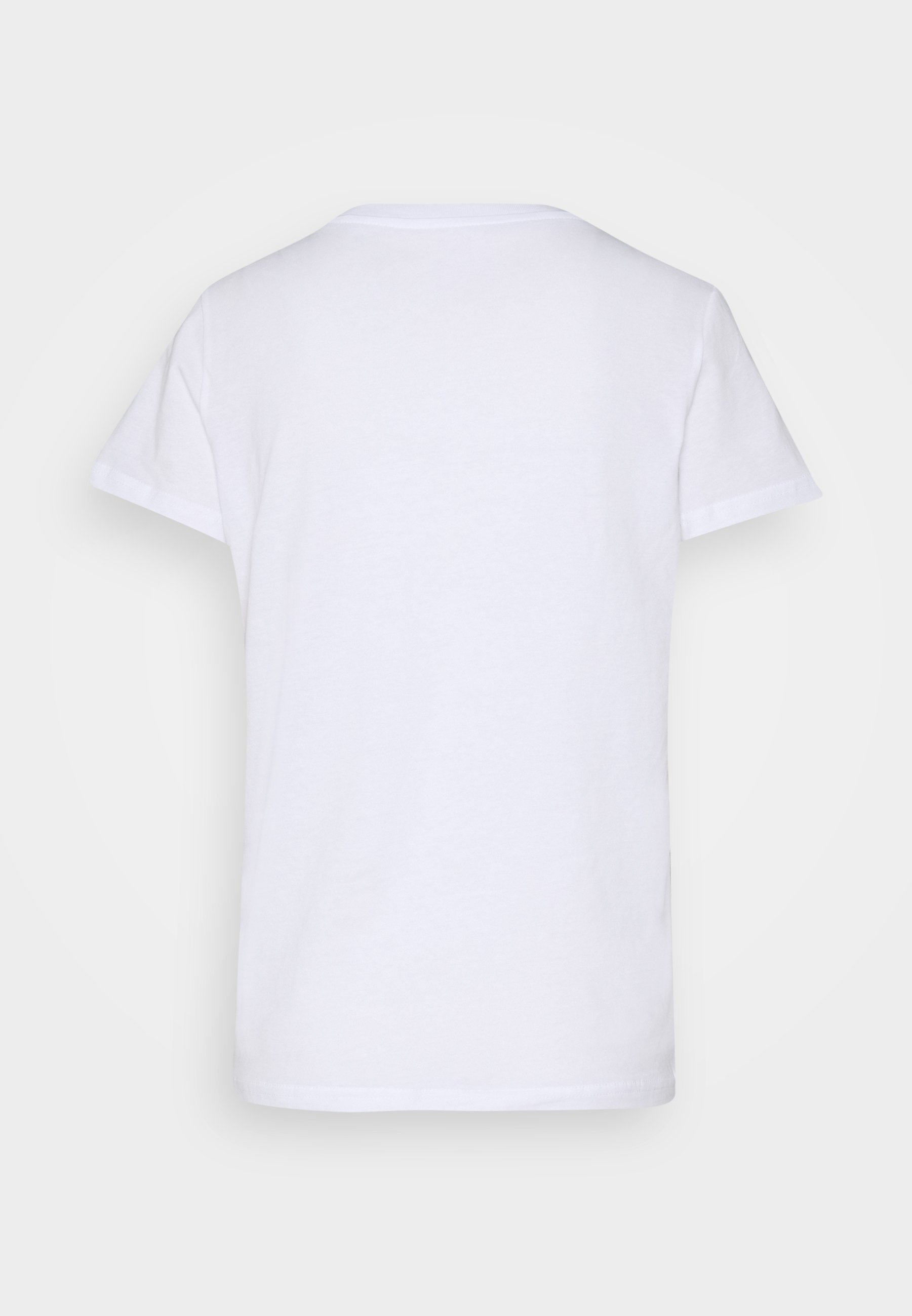 Lee Logo Tee - T-shirts Med Print White/hvit