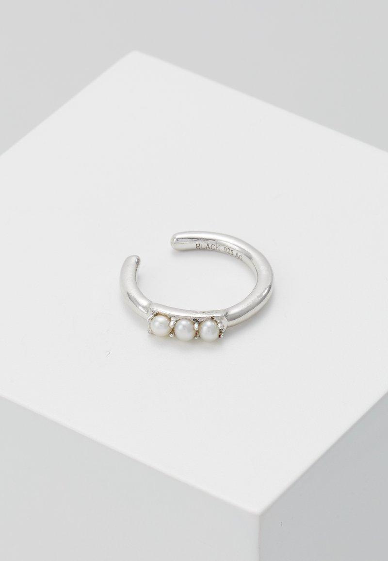 Maria Black - EDISON PEARL EARCUFF - Earrings - silver