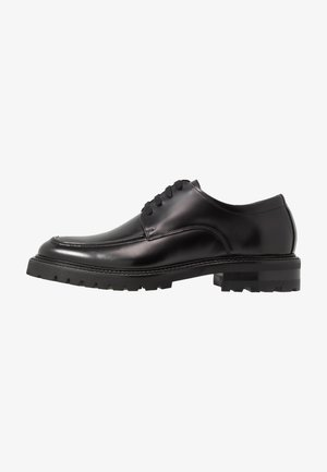 PRESTON LACE UP SHOE - Zapatos con cordones - black