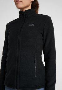Jack Wolfskin - W MOONRISE JKT - Fleece jacket - black - 5
