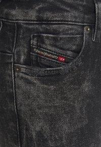 Diesel - JEVEL - Skinny džíny - washed black - 2