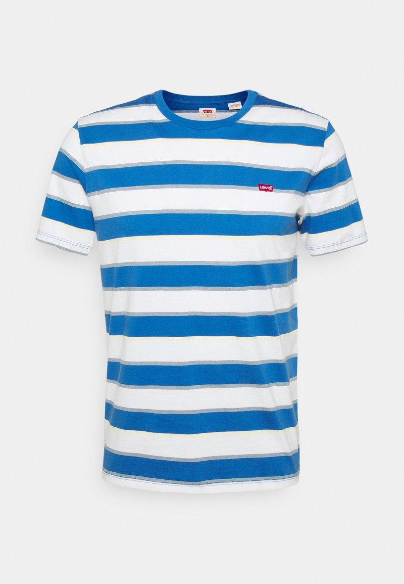 Levi's® - ORIGINAL TEE - T-shirt - bas - blue/white