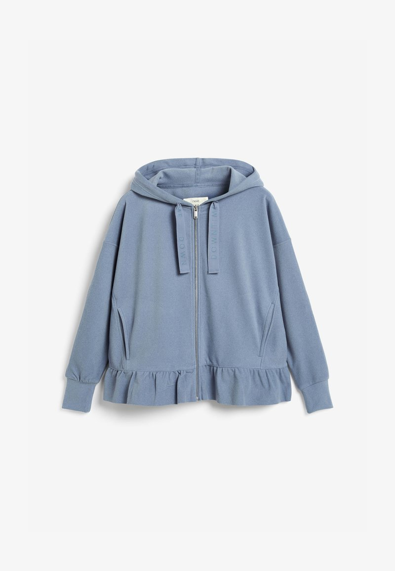Next - SUPERSOFT - Zip-up hoodie - blue