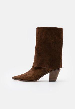 Cowboy/Biker boots - renna sella